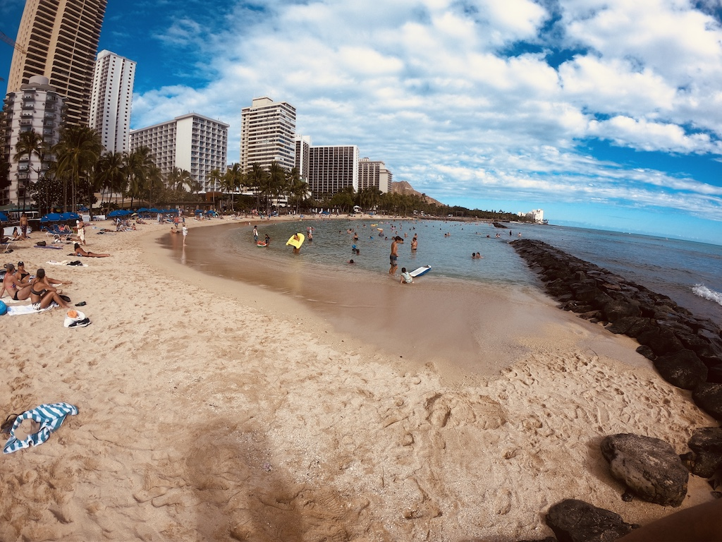 GoPro Hero6 in Hawai Wikiki