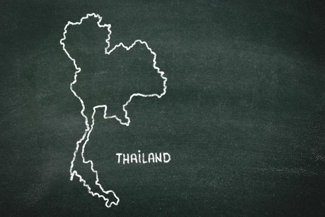 thailand map タイ 地図
