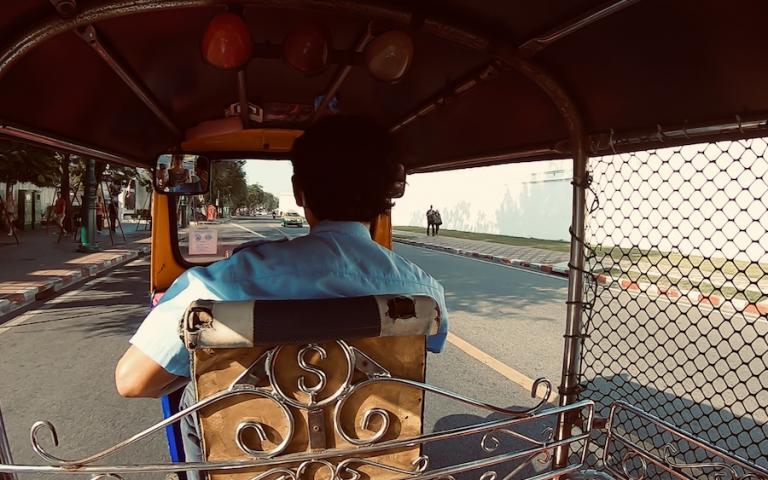 バンコクのトゥクトゥク