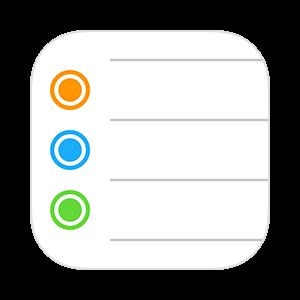 リマインダーアプリのアイコン