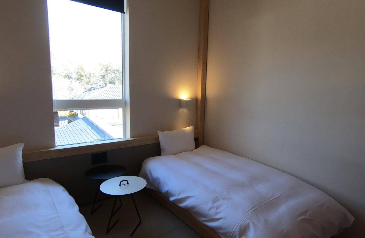 BEB5 中軽井沢 ツインルーム 部屋