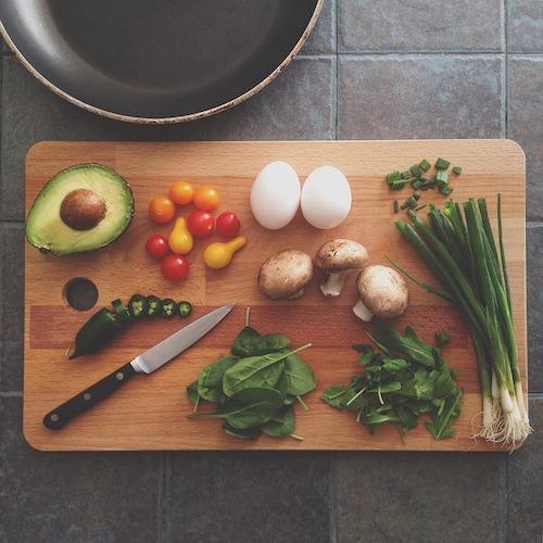 男性不妊に効果的な食事イメージ
